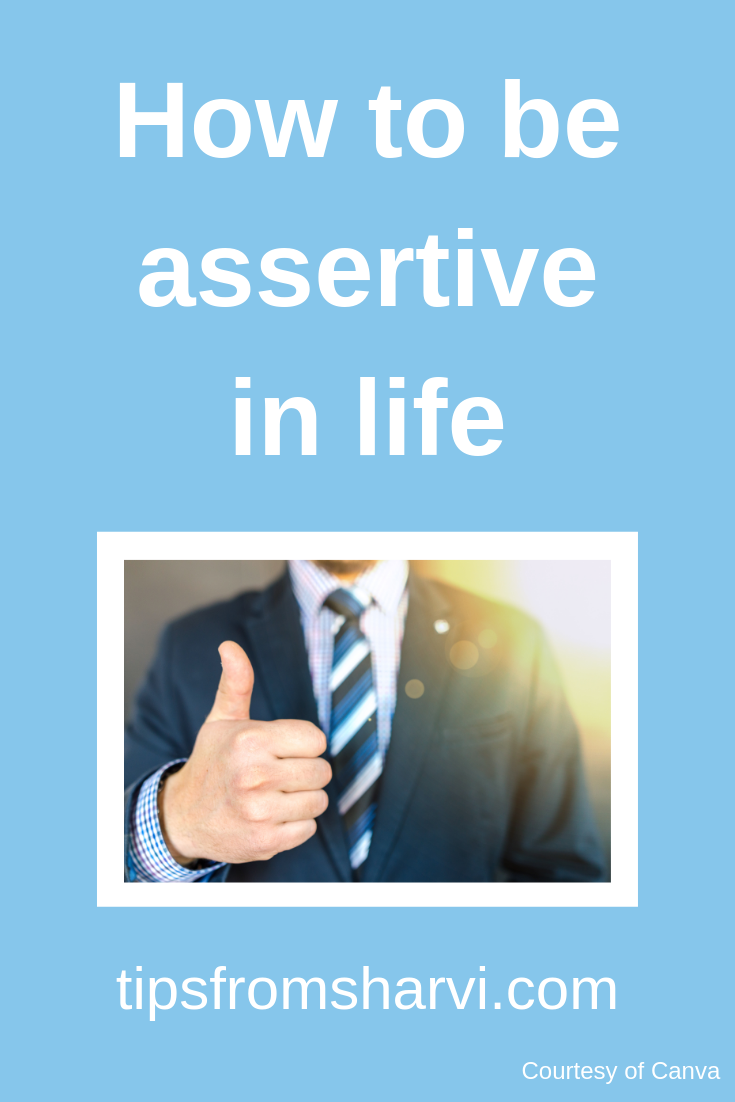 How to be #assertive in life... #decisionmaking