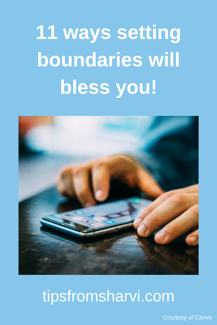 11 ways setting boundaries will bless you! #personalboundaries #digitaldetox