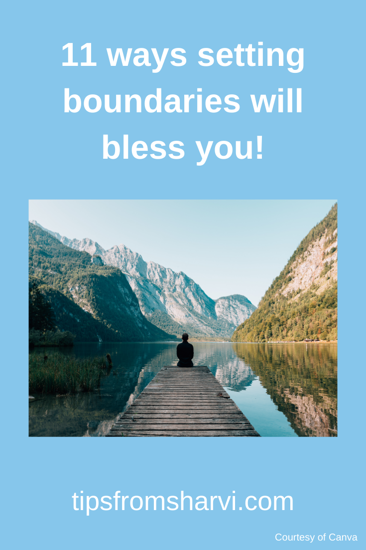 11 ways setting boundaries will bless you! #personalboundaries #selfcare