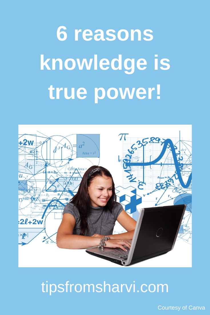 6 reasons knowledge is true power! #knowledgeispower #onlinecourses