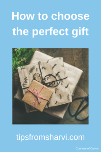 How to choose the perfect gift