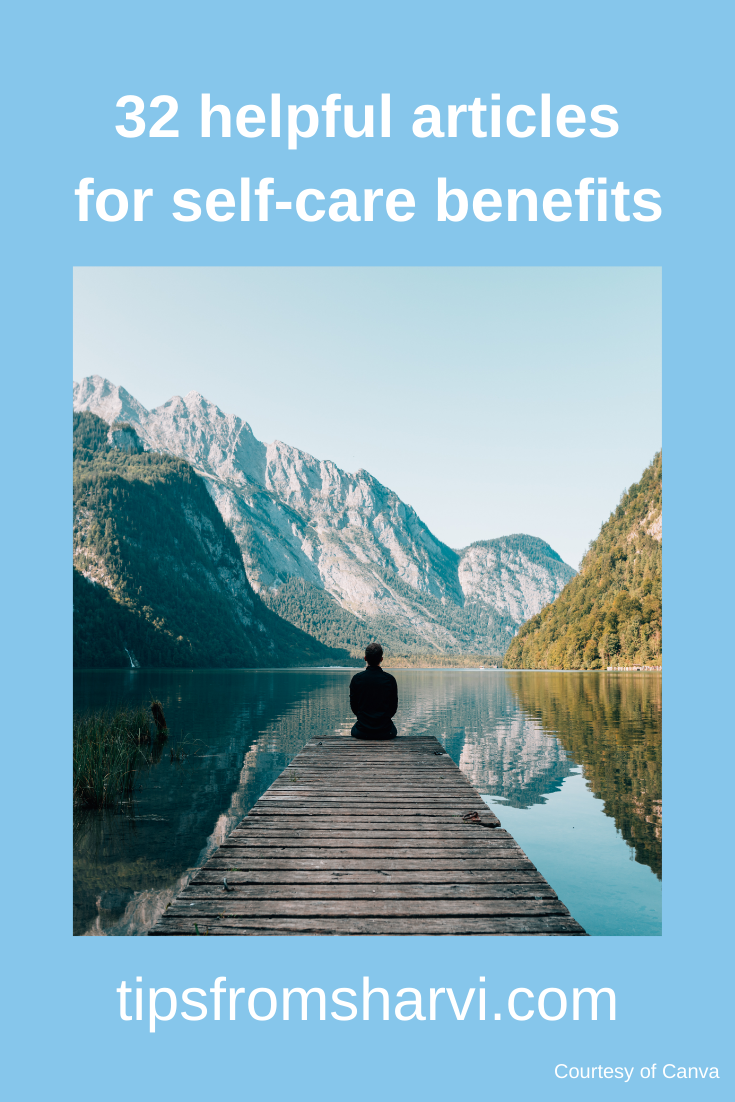 32 helpful articles for self-care benefits