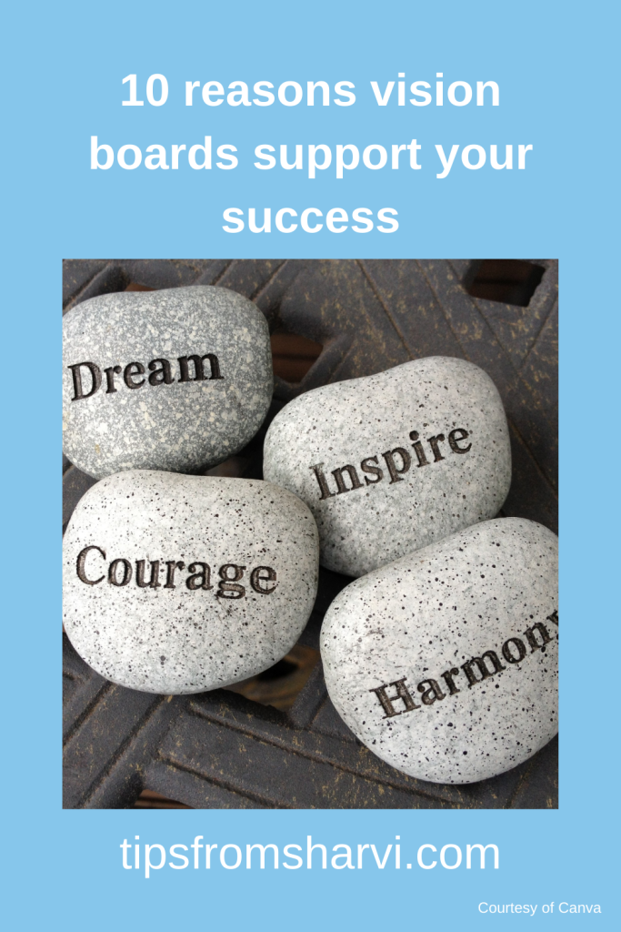10 reasons vision boards support your success