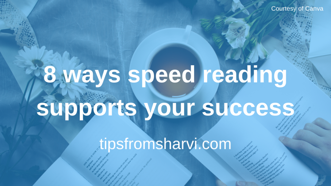 8 ways speed reading supports your success