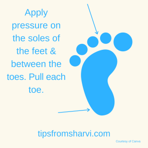 6 ways to relax your tired feet