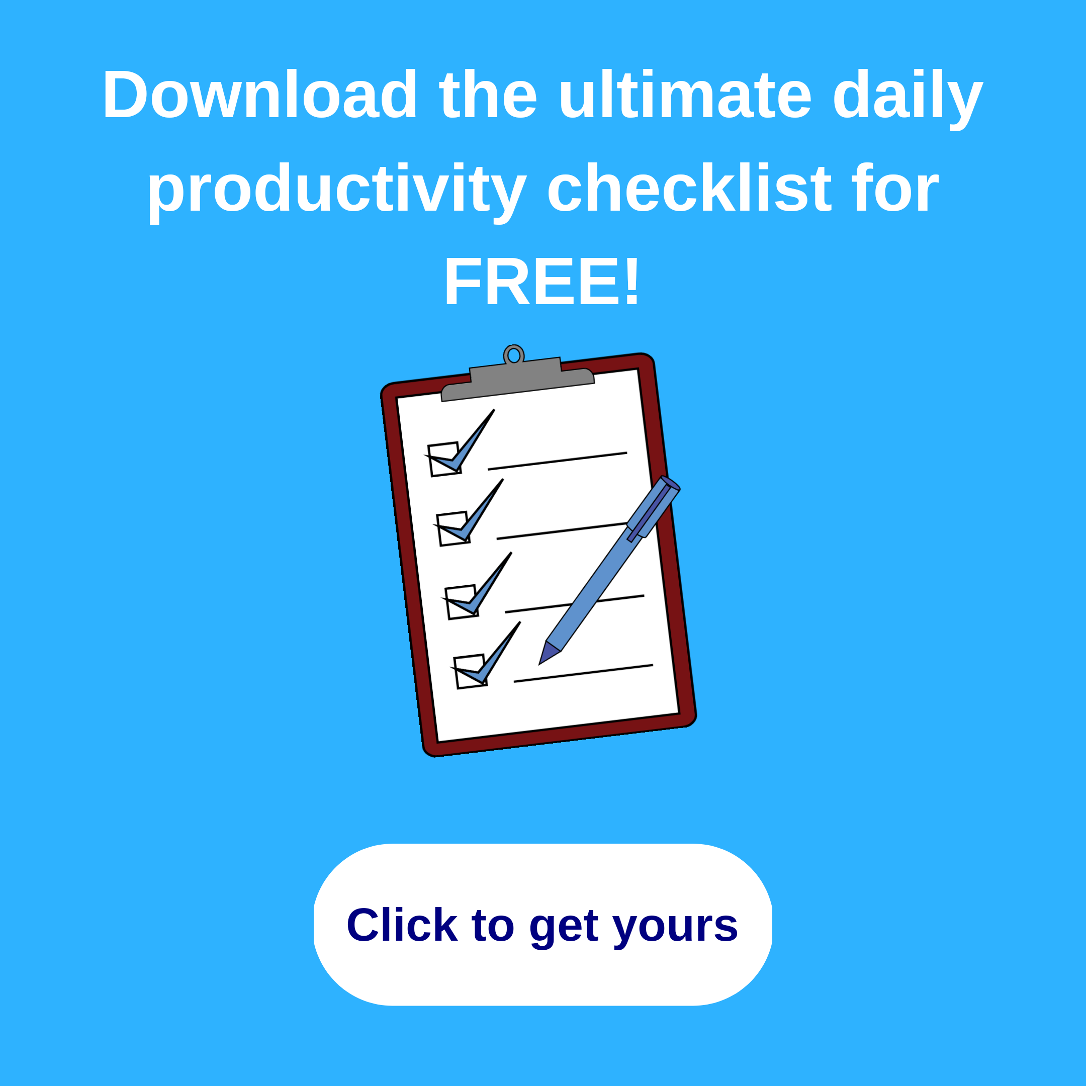 Download the productivity checklist