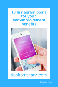 10 Instagram posts for your self-improvement benefits
