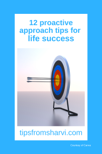 12 proactive approach tips for life success