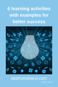 6 learning activities with examples for better success