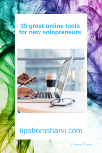 35 great online tools for new solopreneurs